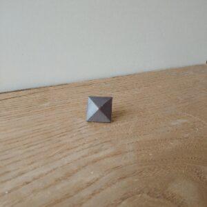 トキン鋲 黒つや消し 25mm